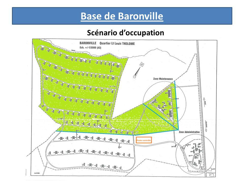 Base de Baronville Scénario doccupation