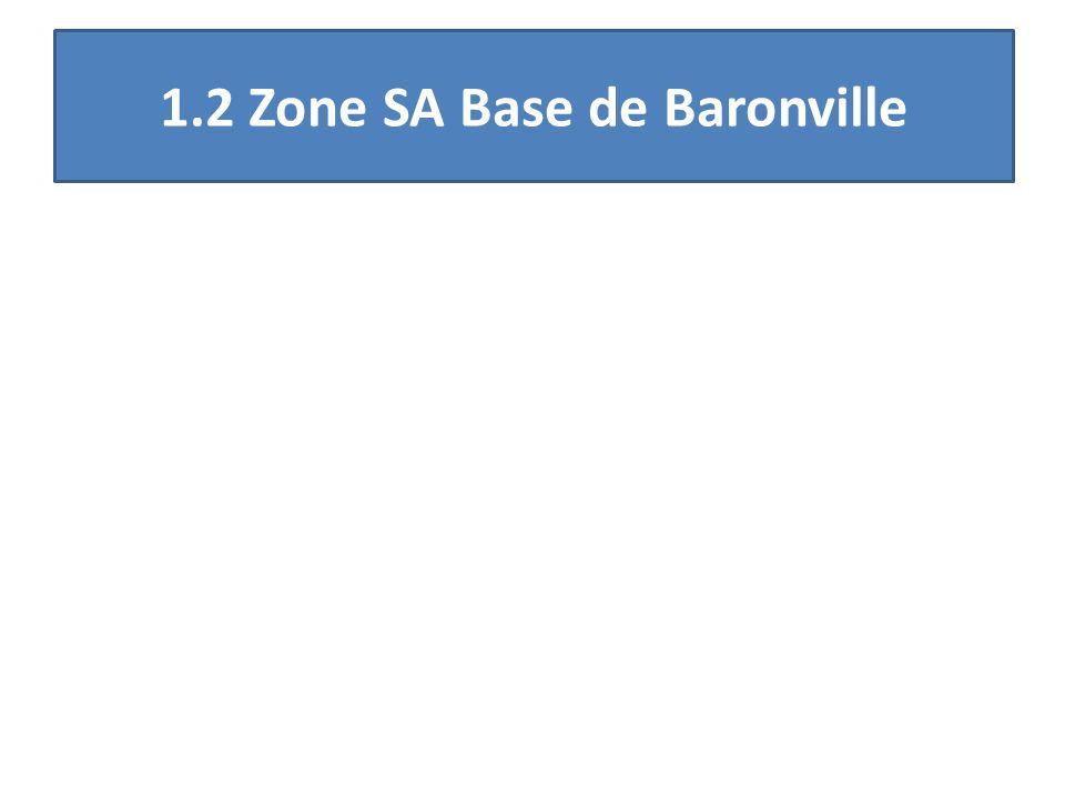 1.2 Zone SA Base de Baronville