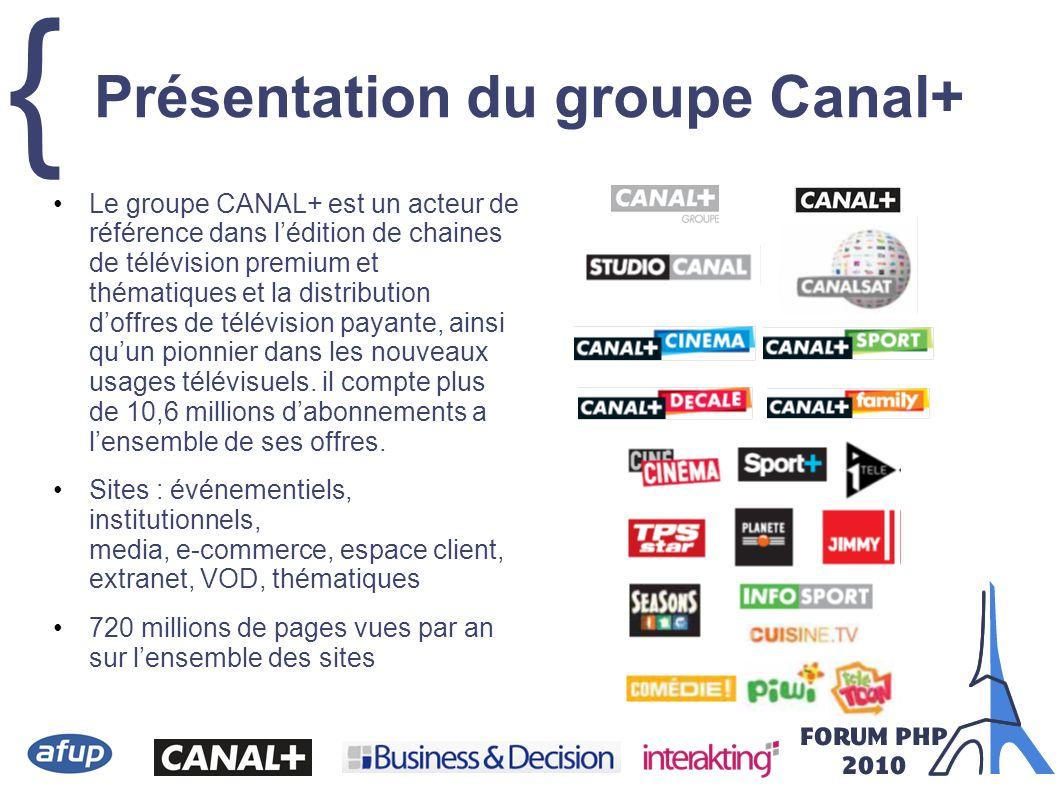 { Présentation du groupe Canal+ Le groupe CANAL+ est un acteur de référence dans lédition de chaines de télévision premium et thématiques et la distri