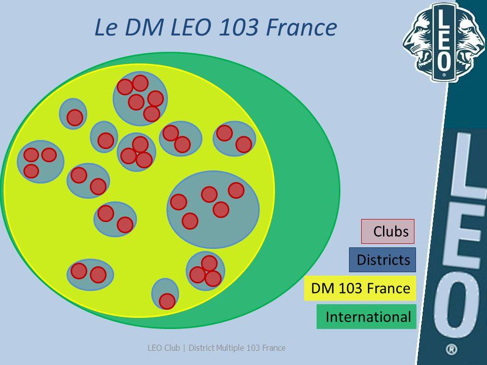 Le DM LEO 103 France International DM 103 France Districts Clubs LEO Club   District Multiple 103 France
