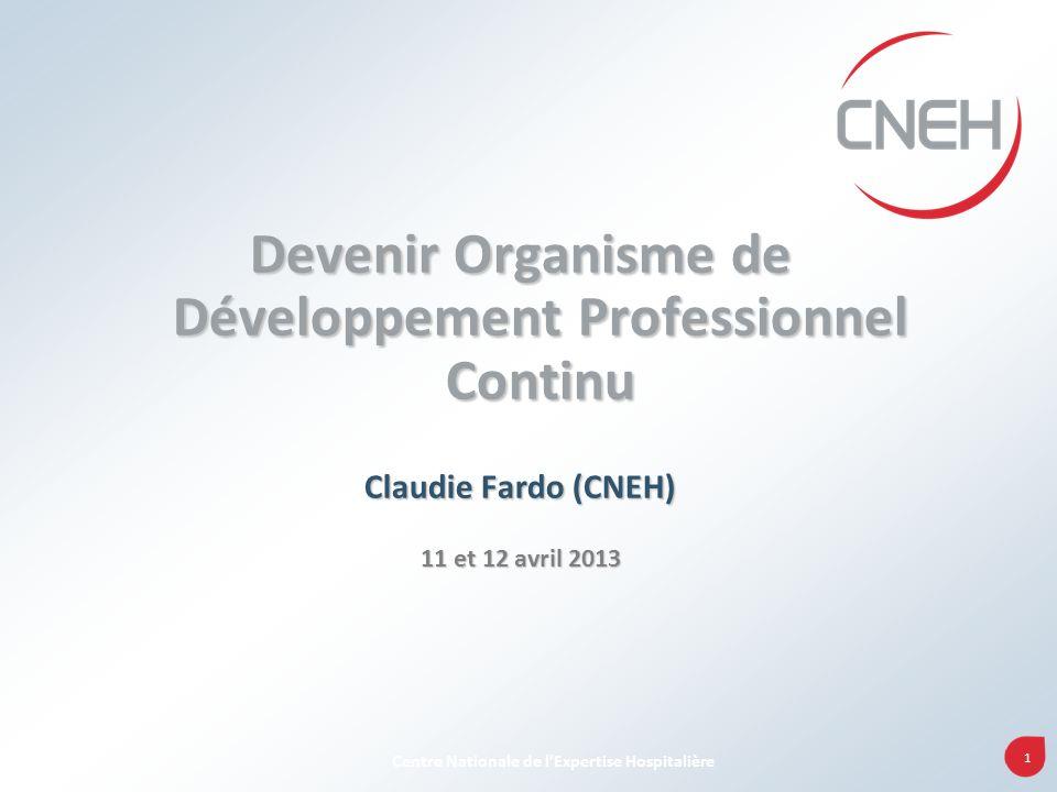 52 Centre Nationale de lExpertise Hospitalière Les obligations pour un ODPC