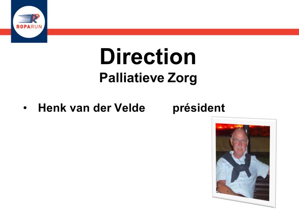 Direction Palliatieve Zorg Henk van der Velde président