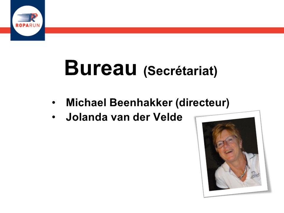 Bureau (Secrétariat) Michael Beenhakker (directeur) Jolanda van der Velde Michael Beenhakker (directeur) Jolanda van der Velde