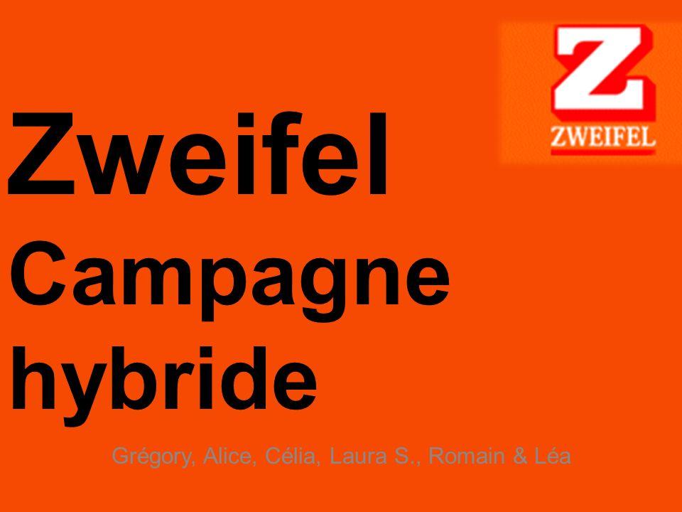 Zweifel Campagne hybride Grégory, Alice, Célia, Laura S., Romain & Léa