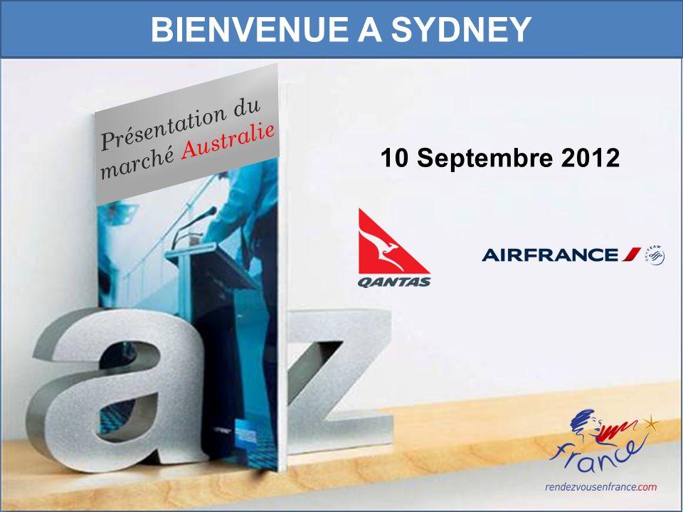 1 Présentation du marché Australie 10 Septembre 2012 BIENVENUE A SYDNEY