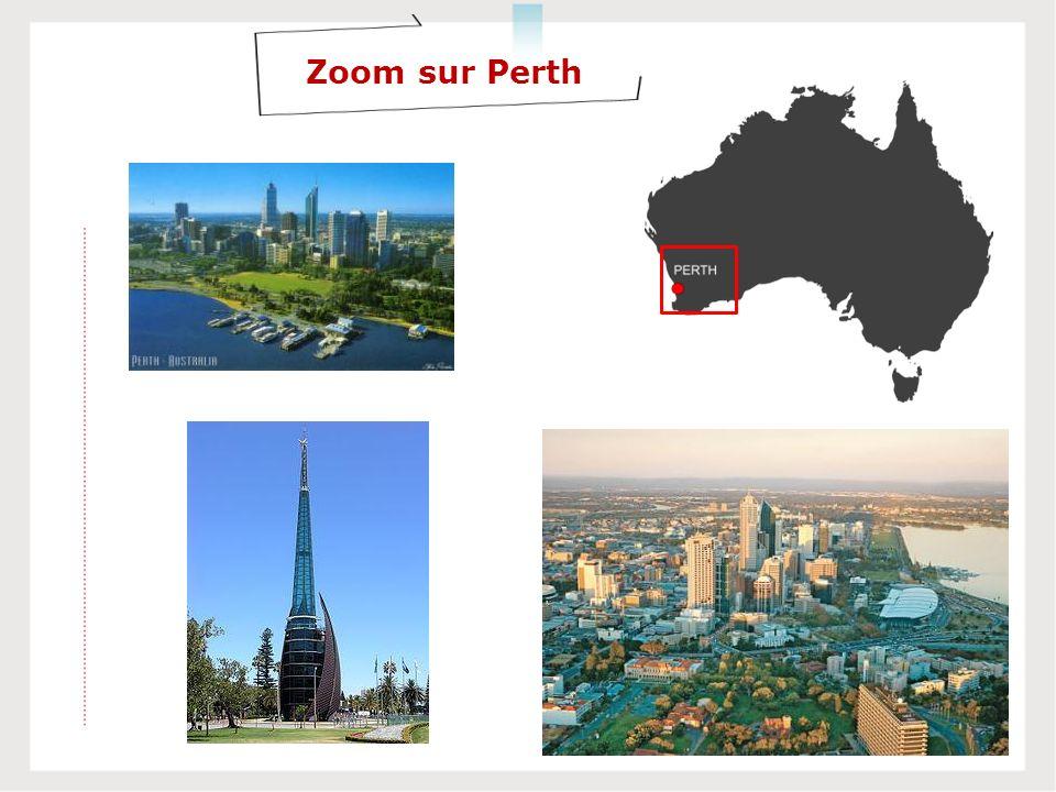 Zoom sur Perth