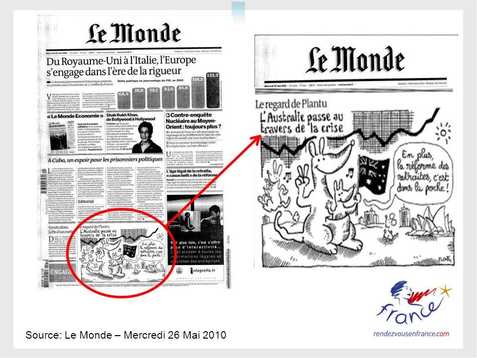 Source: Le Monde – Mercredi 26 Mai 2010