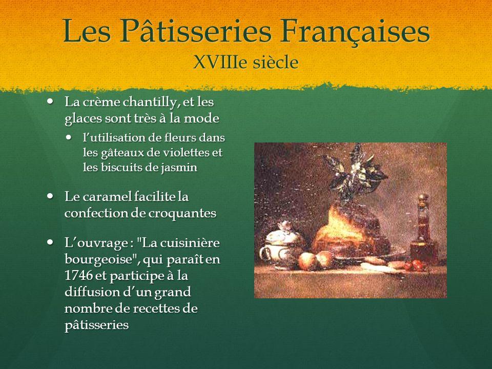 Les Pâtisseries Françaises 1795-1873: La Pâtisserie ornementale Le pâtissier Antonin Carême fut le maître incontesté de cette pâtisserie ornementale.