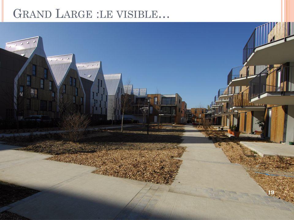 G RAND L ARGE : LE VISIBLE … 19