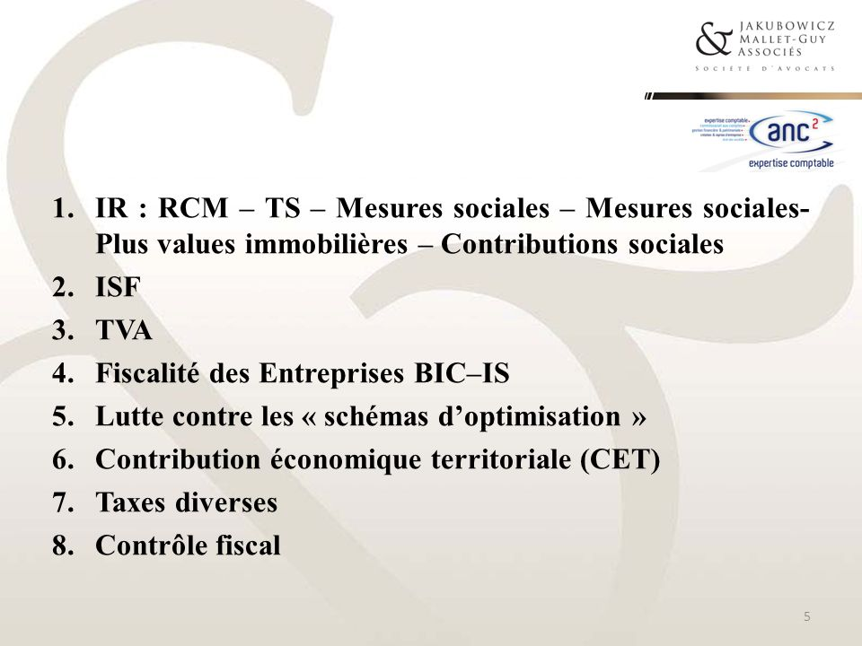 PLUS-VALUES IMMOBILIERES 56