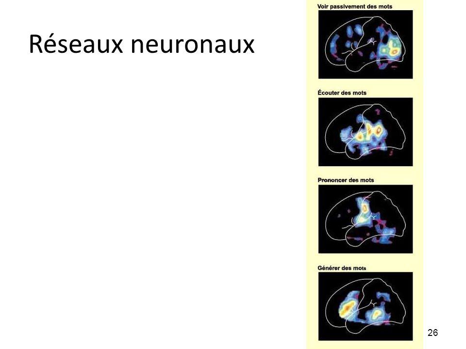 Réseaux neuronaux 26