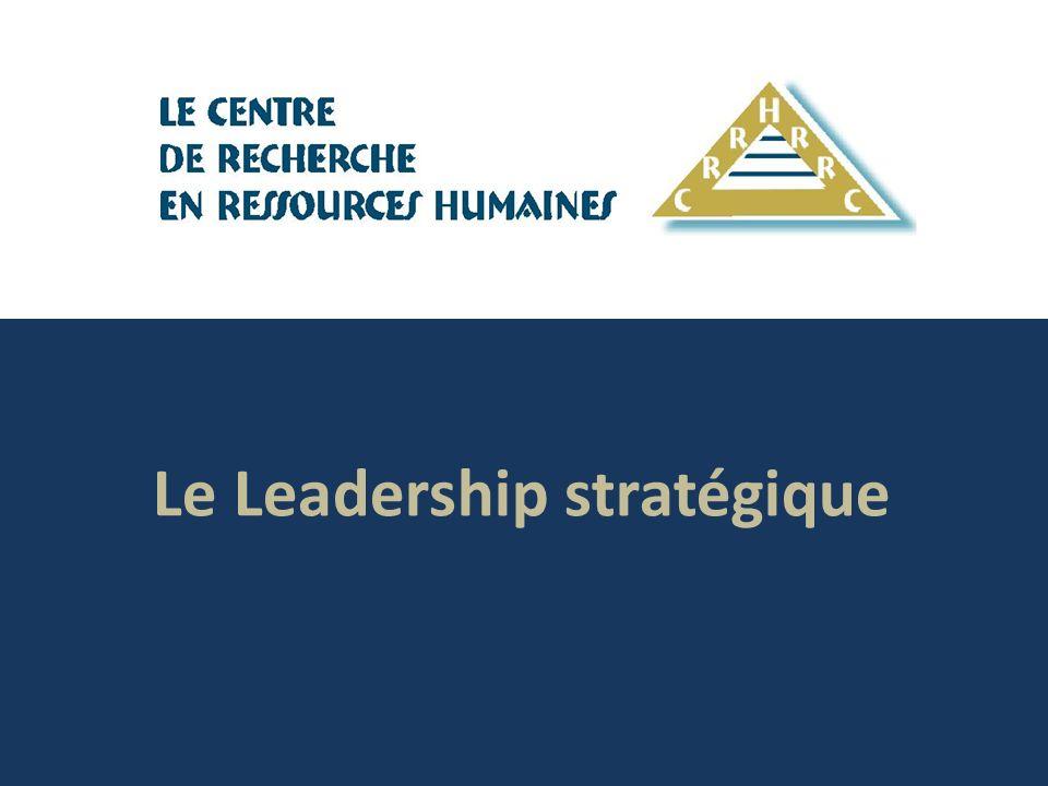 Le Leadership stratégique