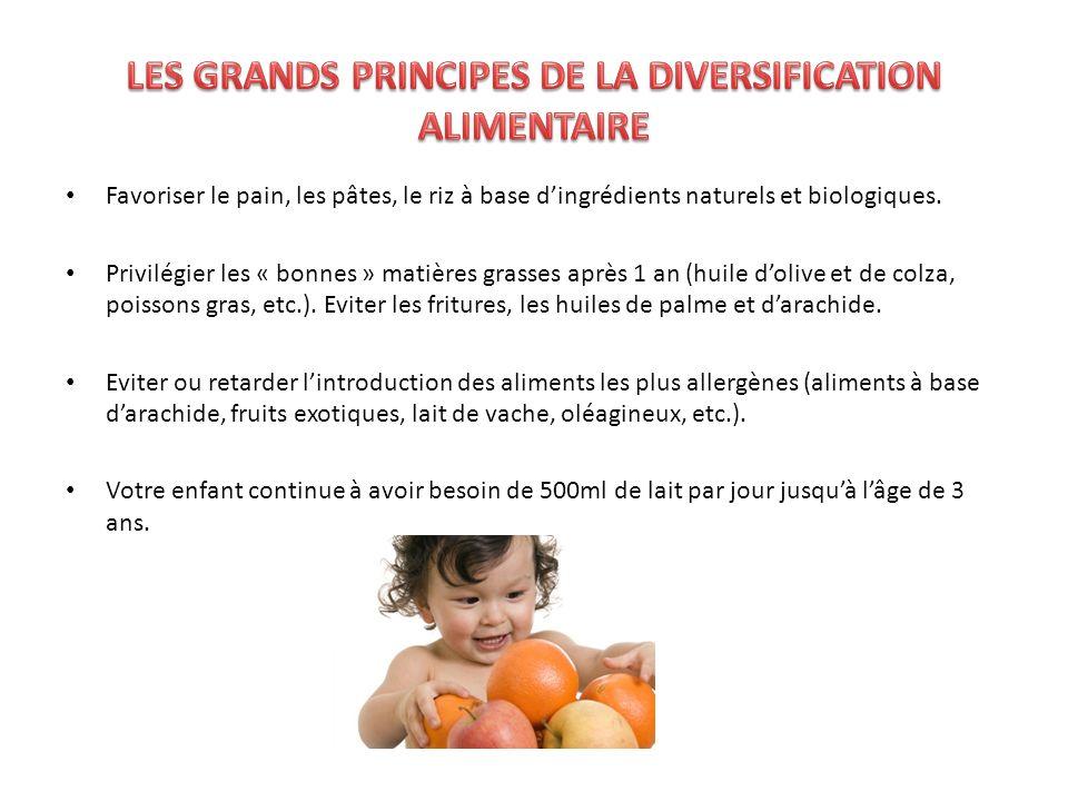 Pour les 9 -12 mois : LundiMardi Petit déjeuner Tétée ou Biberon de lait infantile 2ème âge.