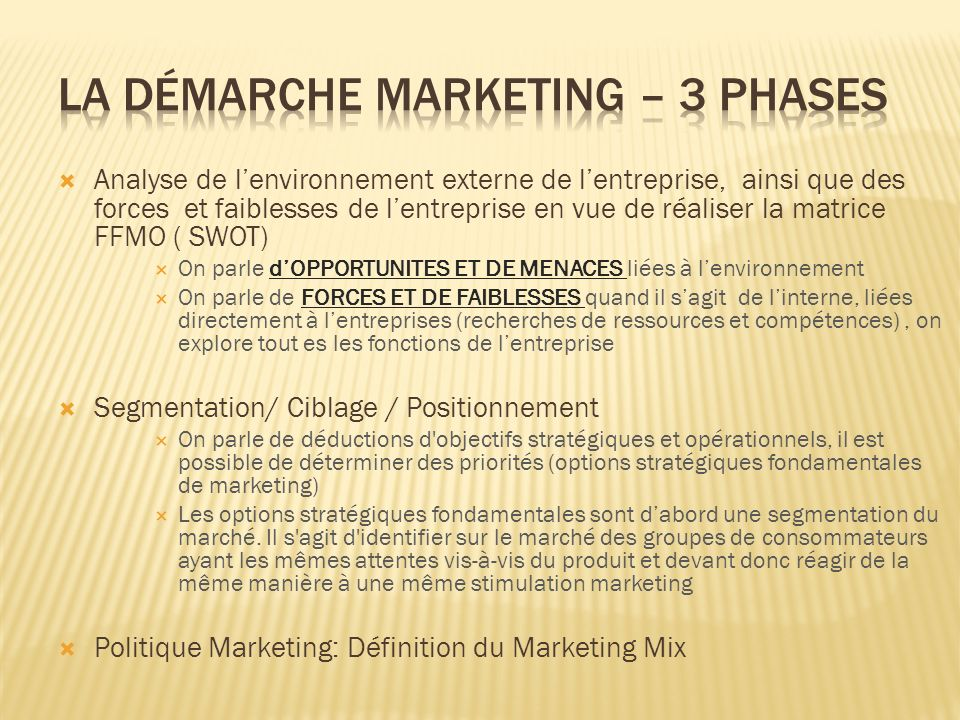 Le prix est la seule variable du marketing-mix qui n engendre pas de coût et qui procure en fait des recettes.