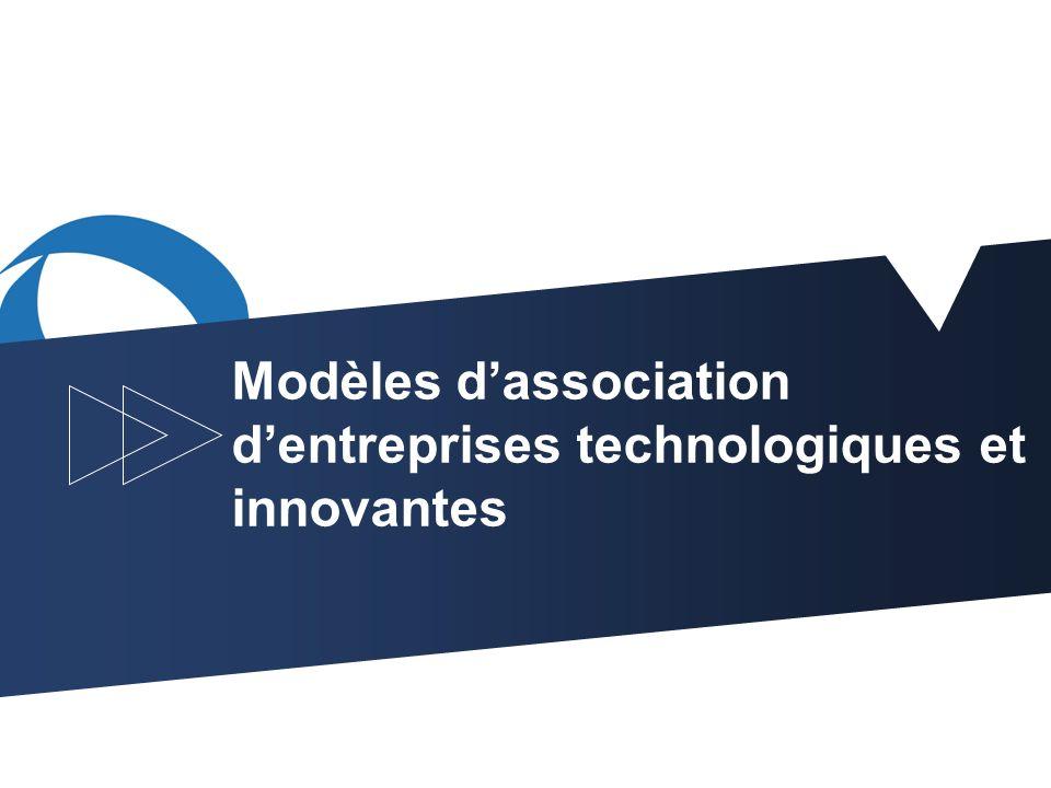 1 Modèles dassociation dentreprises technologiques et innovantes