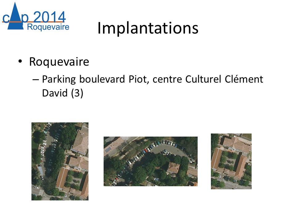 Implantations Roquevaire – Parking boulevard Piot, centre Culturel Clément David (3)