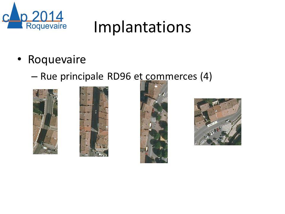 Implantations Roquevaire – Rue principale RD96 et commerces (4)