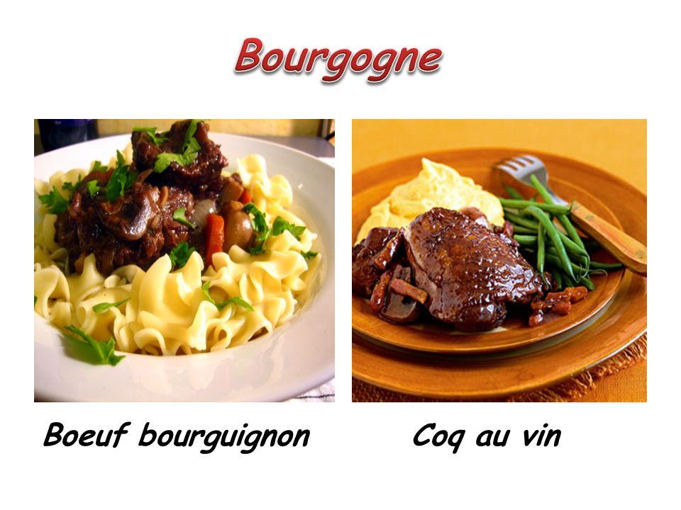 Boeuf bourguignon Coq au vin
