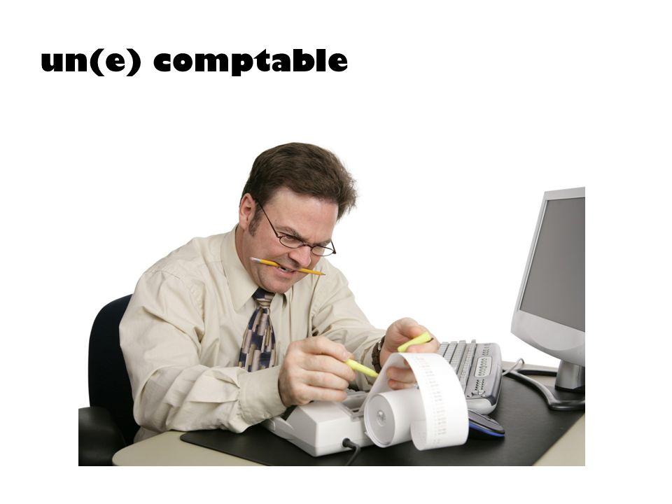 un(e) comptable