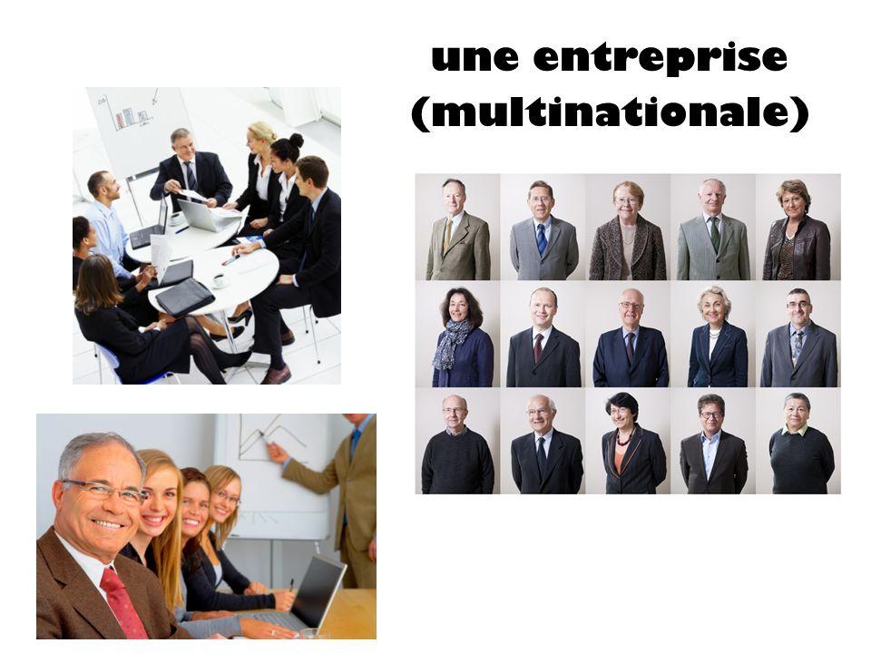 une entreprise ((multinationale)