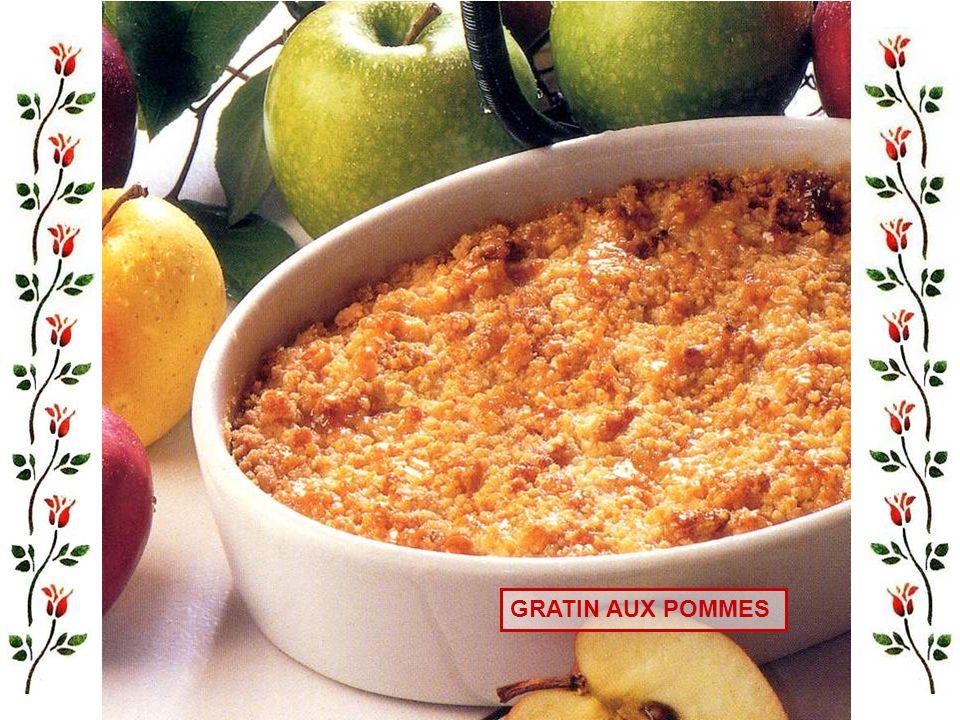 Pour 4 personnes : - 4 boudins noirs, 4 pommes golden, beurre, 1 cuillerée à café de sucre. - Peler les pommes, retirer le cœur et les pépins. Les cou