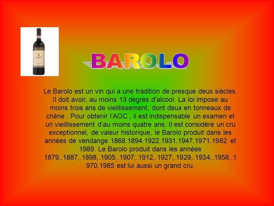 Cest un ancien vin rouge piémontais, obtenu d un raisin noir, qui s appelle justement Bonarda.