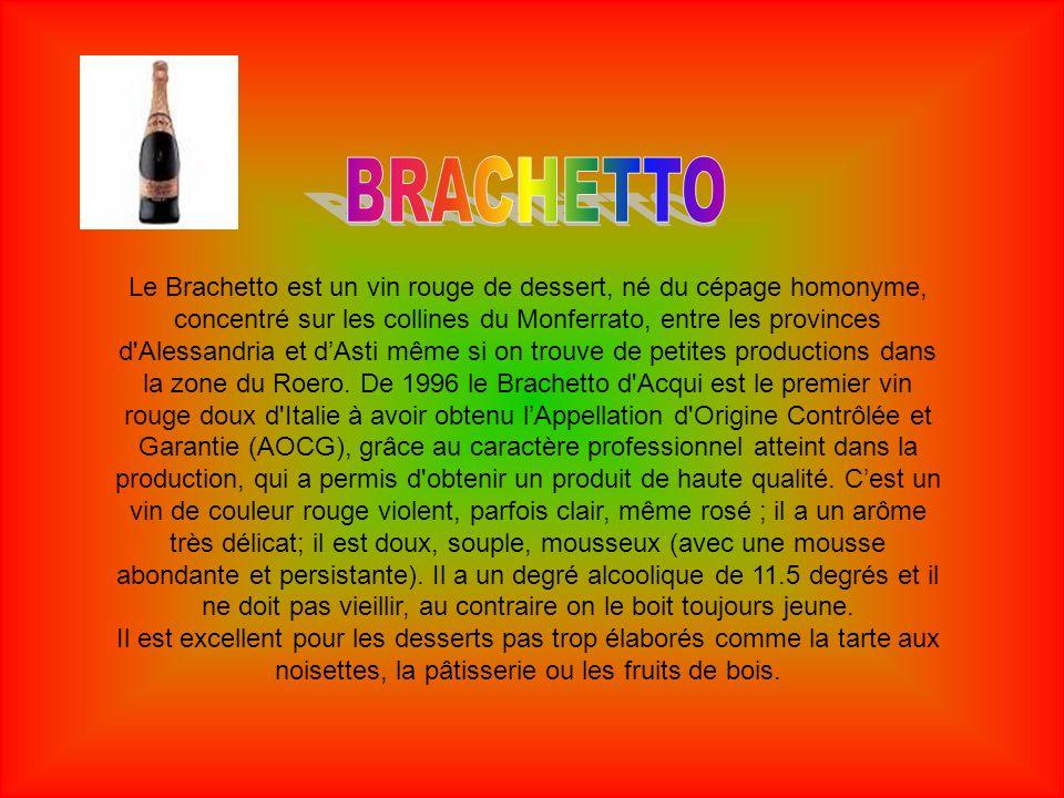 Raisin et vin blanc parmi les plus nobles du Piémont.