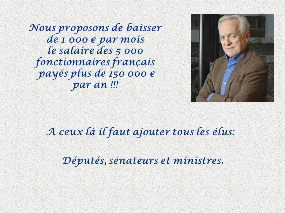 Voilà une bonne idée de recettes fiscales ! Hollande veut taxer à 75 % les 2 000 français les plus riches, ce qui rapporterait 200 millions. et ensuit