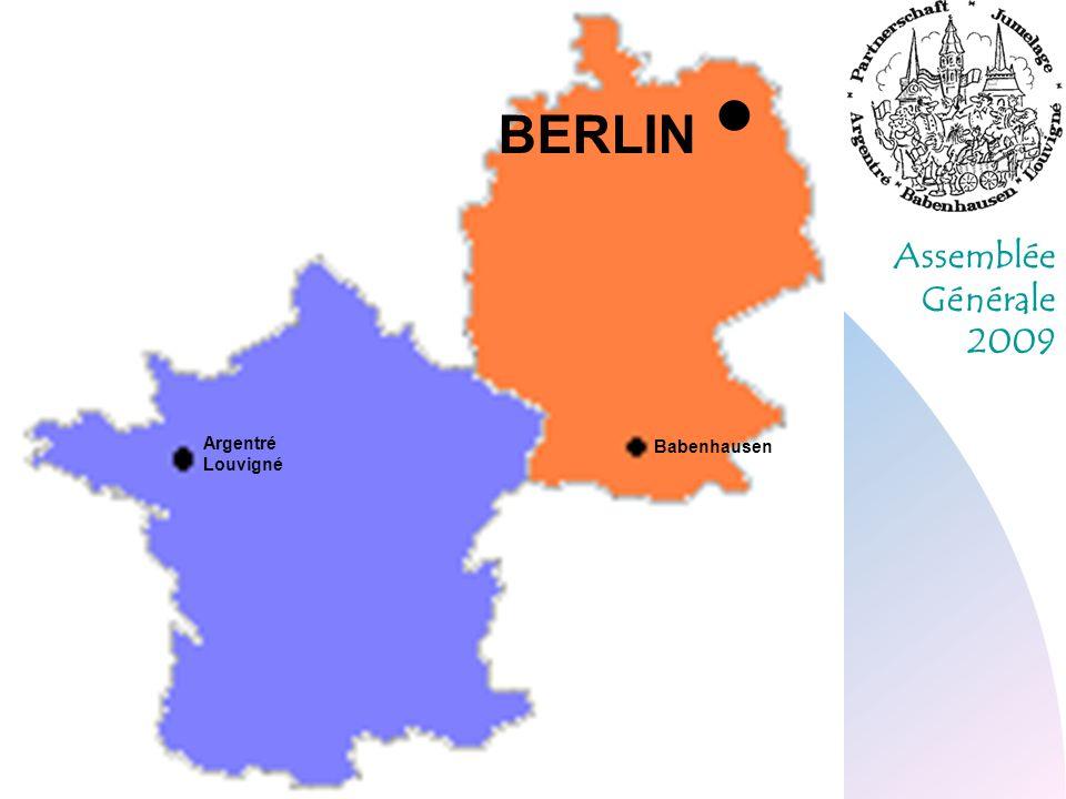 Assemblée Générale 2009 Argentré Louvigné Babenhausen BERLIN
