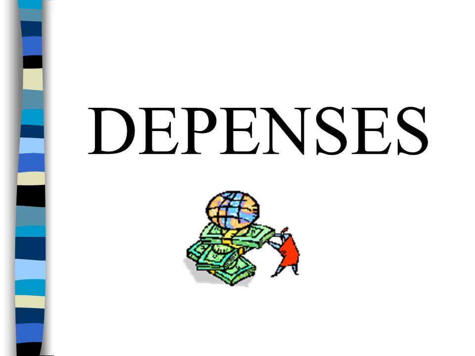 DEPENSES