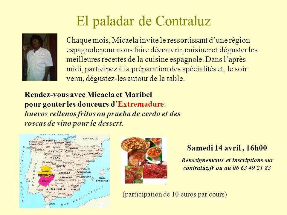 El paladar de Contraluz Rendez-vous avec Micaela et Maribel pour gouter les douceurs dExtremadure: huevos rellenos fritos ou prueba de cerdo et des roscas de vino pour le dessert.