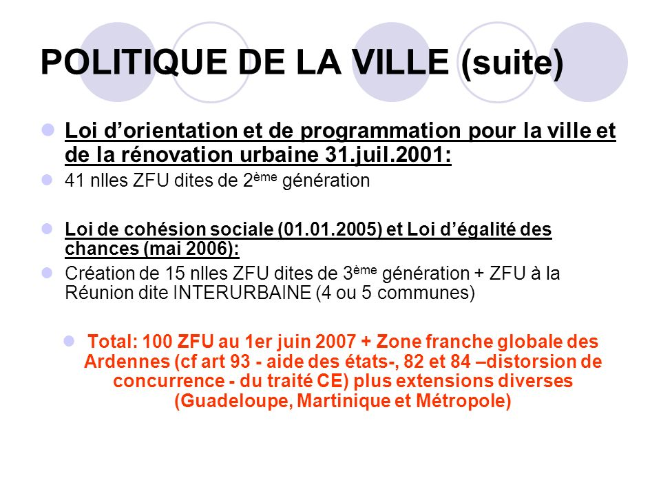 REGION GUADELOUPE INTERROGATIONS: Distorsions de concurrence .