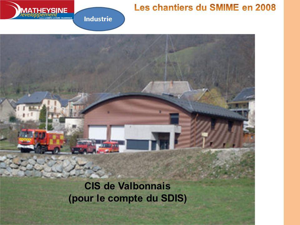 Industrie CIS de Valbonnais (pour le compte du SDIS)