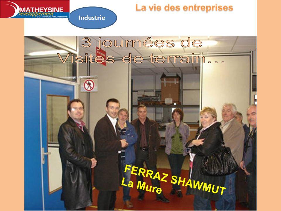 Industrie FERRAZ SHAWMUTLa Mure