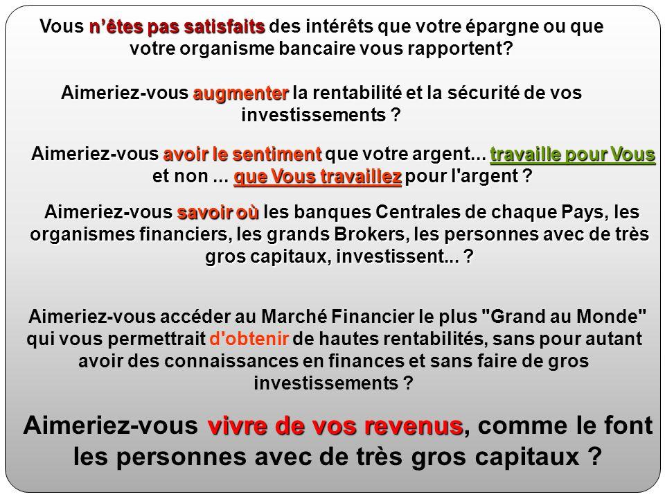 INTRODUCTION : LES PERSONNES AVEC UN SUCCES FINANCIER ONT TOUJOURS SU 2 VÉRITÉS...