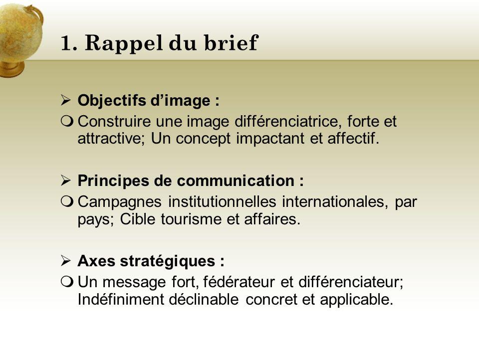 Sénégal by Baobab Agency 1.Rappel du brief 2.Présentation pays 3.Tourisme 3.1. Contexte actuel 3.2. Analyse stratégique 3.3. Etude de positionnement 3
