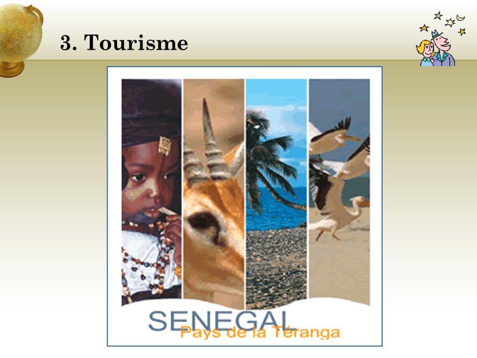 2. Présentation pays Le Sénégal est divisé en 11 régions :