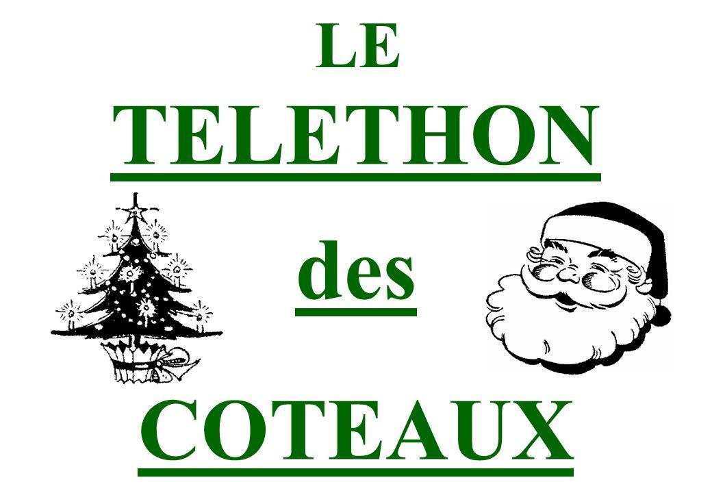 LE TELETHON des COTEAUX