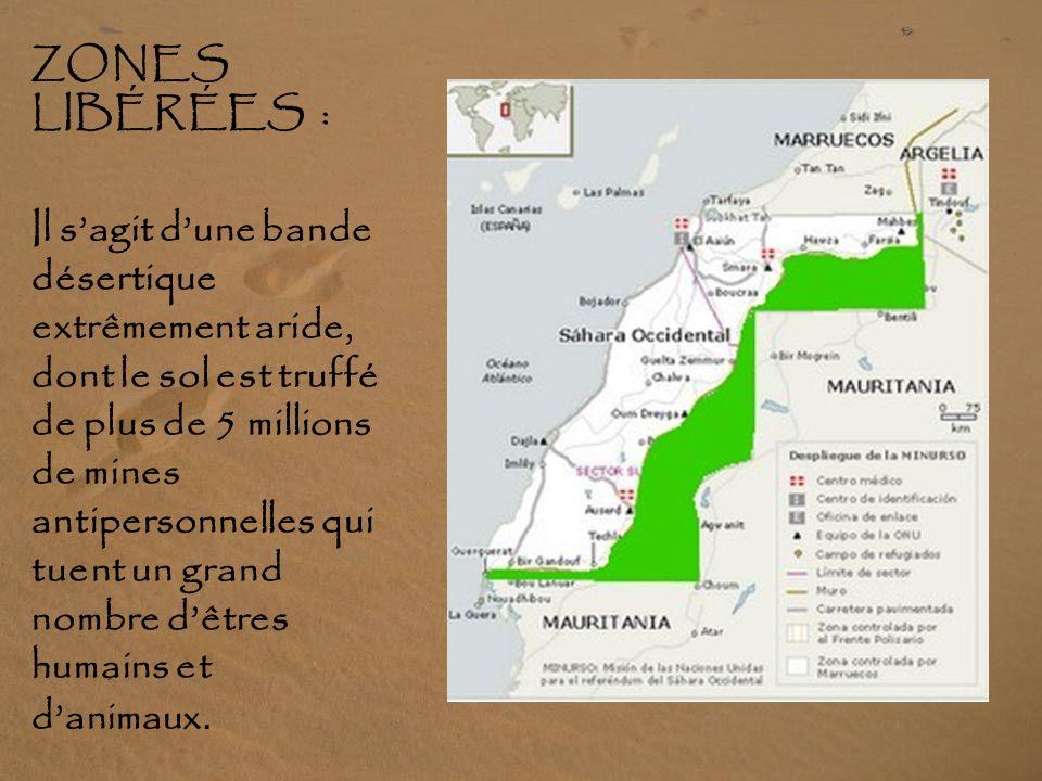 Dans la zone occupée les soldats marocains se livrent à des violations permanentes des droits humains. Ils torturent, oppriment la population sahraoui