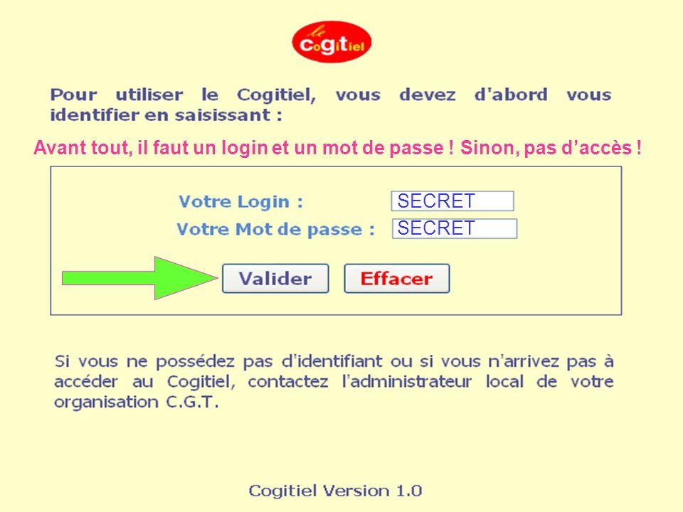Loutil complet de Gestion des adhérents Les droits donnés à chaque utilisateur On trouve sur cette page : tout ce qui touche à ladhérent De près ou de loin !!.