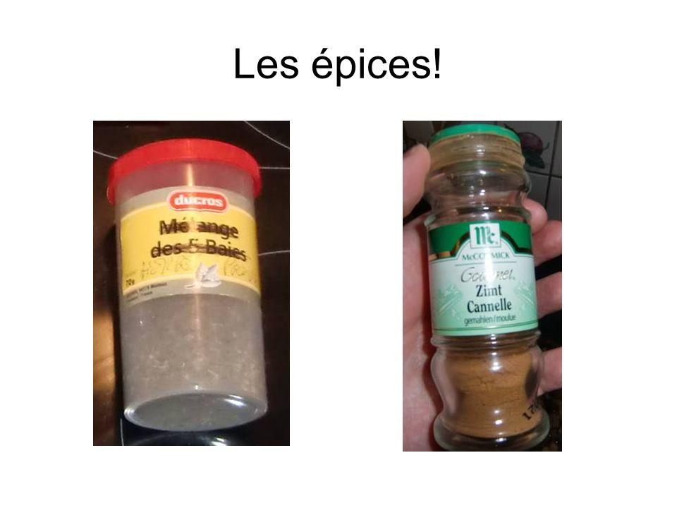 Les épices!