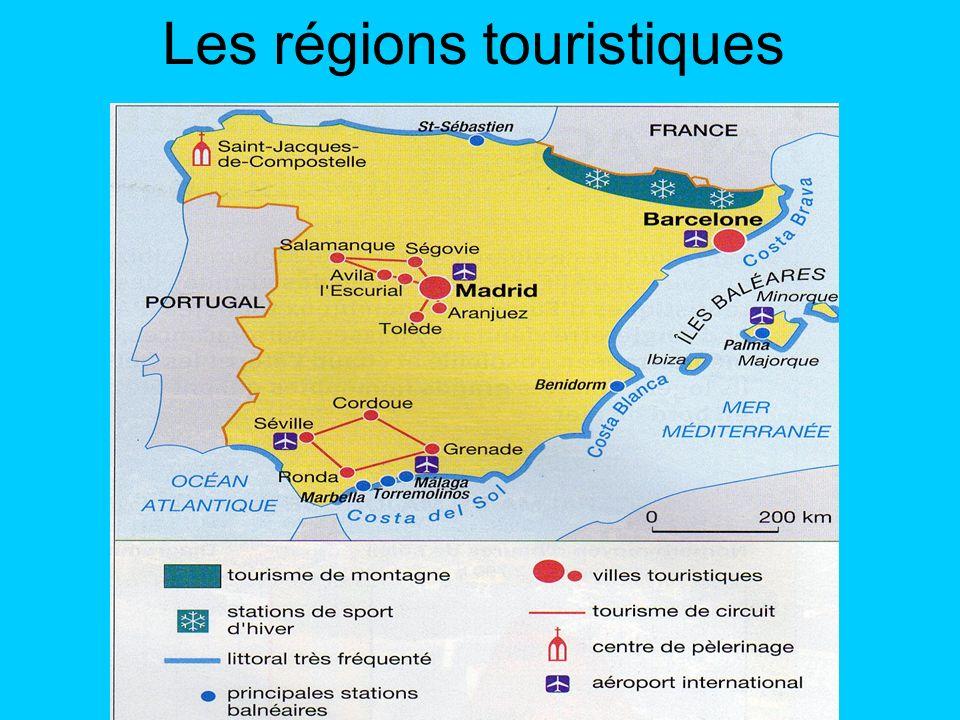 Carte D Espagne Touristique | My blog