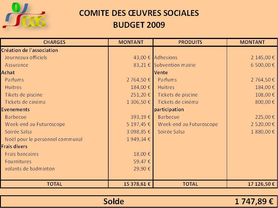 Rapport Financier Les recettes Subventions Adhésions Divers Les dépenses Le fonctionnement Les actions Divers Vote