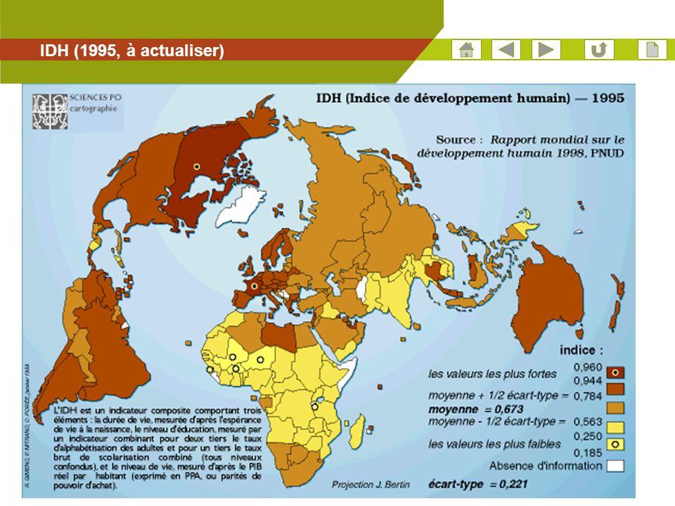 38 IDH (1995, à actualiser)