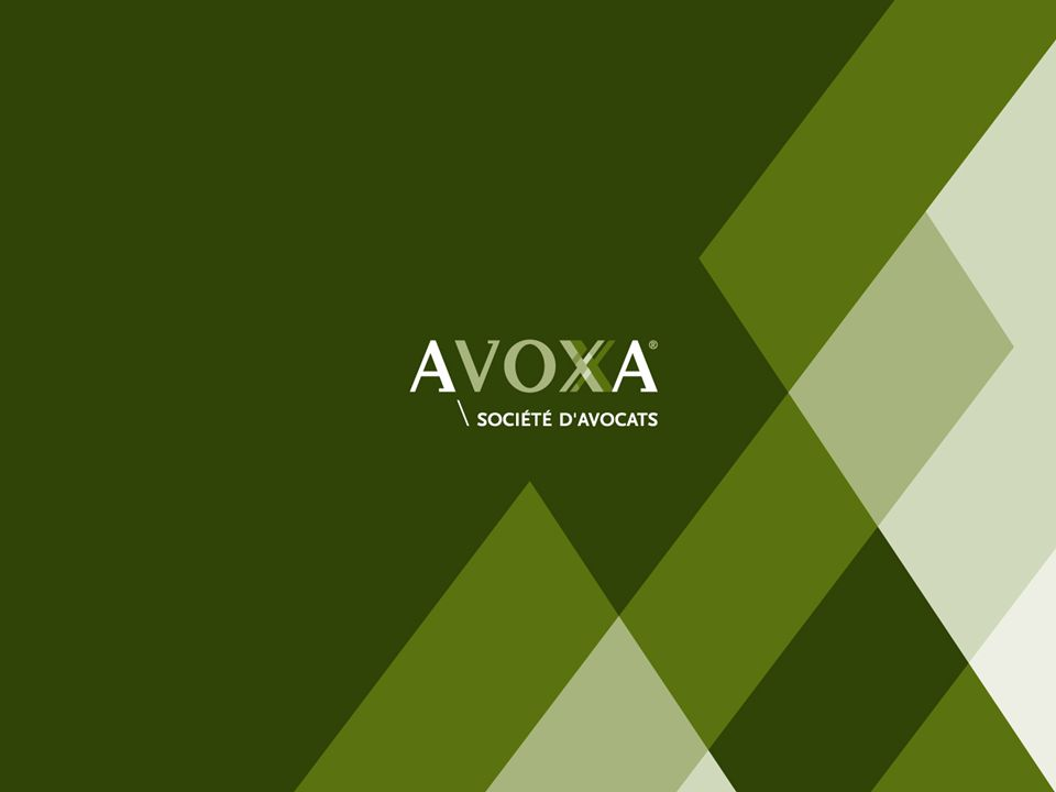 © AVOXA - Le présent support ne peut être reproduit sans autorisation - P2 \\ Activité dagent commercial : faut il lexercer en société .