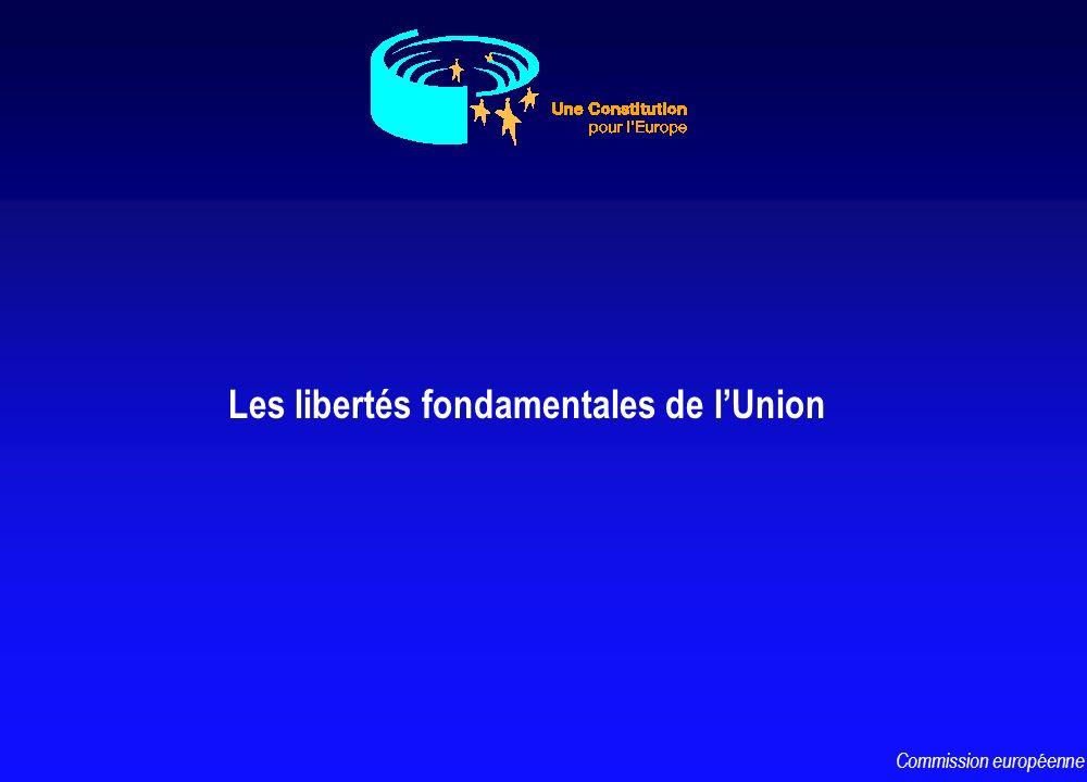 Les libertés fondamentales de lUnion Commission européenne
