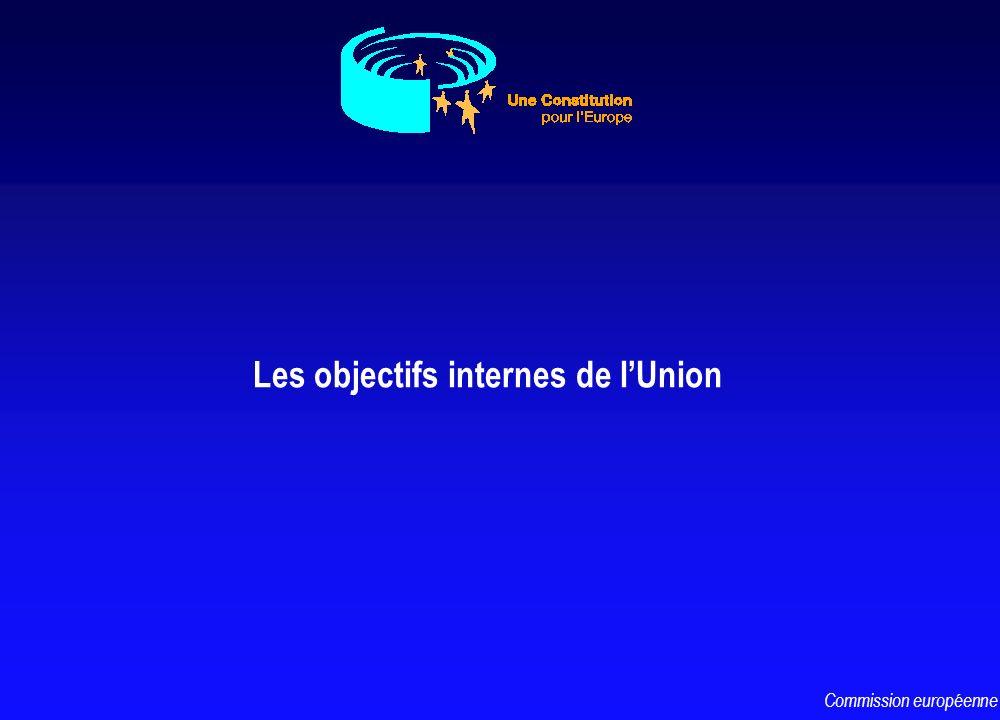 LA BANQUE CENTRALE EUROPEENNE CONSTITUE LE SYSTEME EUROPEEN DE BANQUES CENTRALES AVEC LES BANQUES CENTRALES NATIONALES MAINTIEN DE LA STABILITE DES PRIX DEFINITION ET MISE EN OEUVRE DE LA POLITIQUE MONETAIRE DE LUE AVEC LES BANQUES CENTRALES NATIONALES SEULE HABILITEE A AUTORISER LEMISSION DE lEURO PERSONNALITE JURIDIQUE INDEPENDANCE Commission européenne
