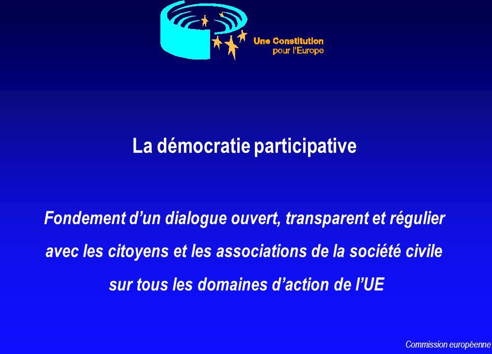 La démocratie participative Fondement dun dialogue ouvert, transparent et régulier avec les citoyens et les associations de la société civile sur tous