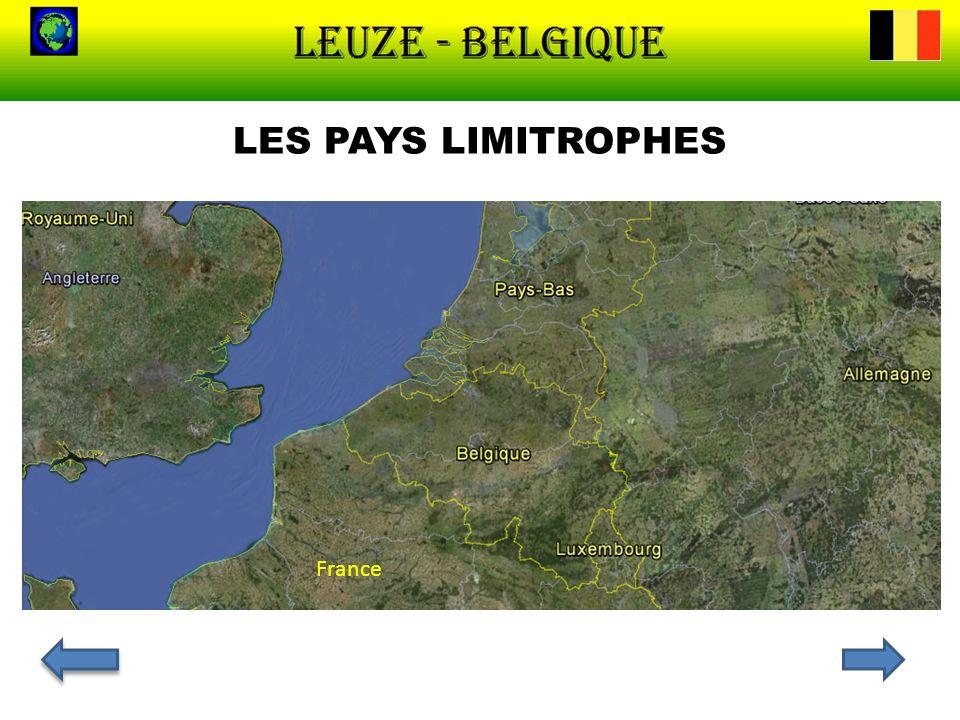 LES PAYS LIMITROPHES France