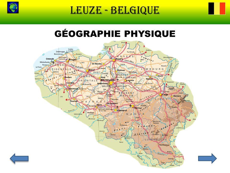 LA VÉGÉTATION La Basse Belgique (de 0 à 100 m d altitude), au nord, est composée de terrains sablonneux ou sablo- limoneux.